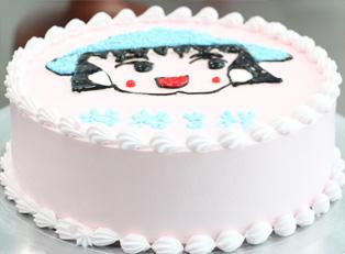 生日蛋糕培训图片