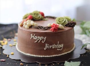 生日蛋糕培训作品