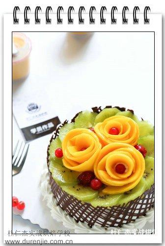 到杭州杜仁杰学西点蛋糕 与美女共享甜蜜时刻