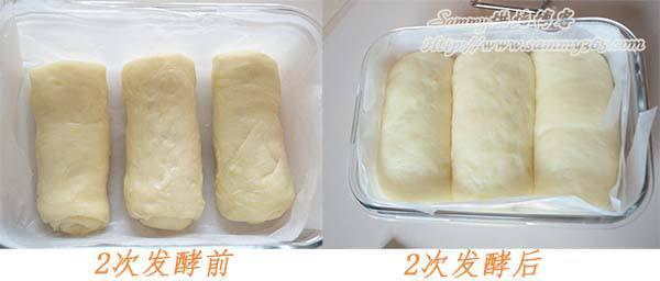 面包发酵过程详解 一次发酵与二次发酵