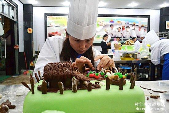 我梦想成为一名西点蛋糕师