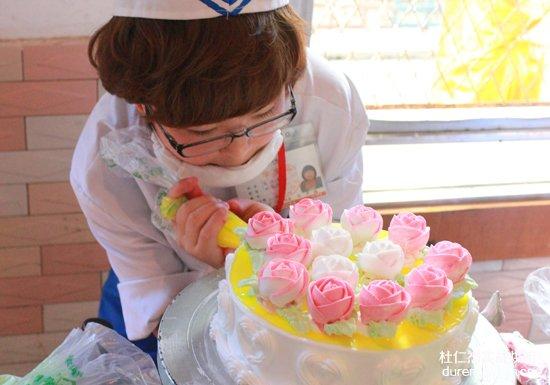 【金牛校区】西点蛋糕裱花创意赛 裱出美味人生