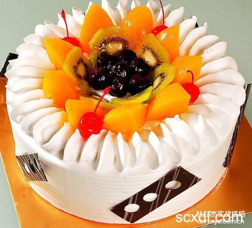 制作蛋糕水果摆放的几大要点